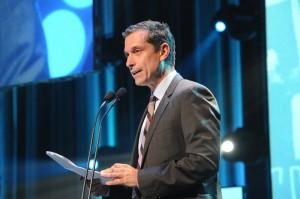 Bernard Tremblay, président-directeur général de la Fédération des cégeps au gala Forces AVENIR au collégial