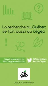 La recherche au Québec se fait aussi au cégep